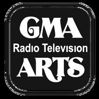 GMA Radio-Television Arts Print Logo 1979