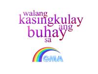 GMA Sign On 2002 with Rainbow