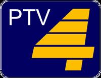 PTV 4 Alternative Logo 1990