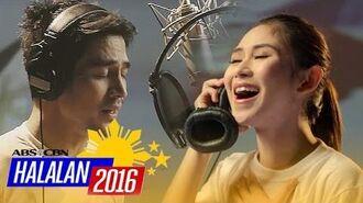 """ABS-CBN Halalan Summer Station ID 2016 """"Ipanalo ang Pamilyang Pilipino"""" Recording Music Video"""