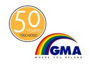 GMA 50 Years Logo