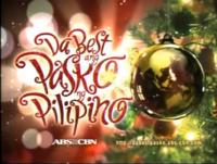 ABS-CBN Da Best Ang Pasko Ng Pilipino Test Card