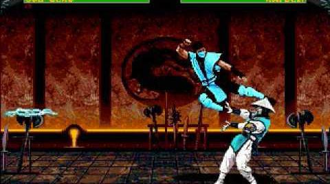 MK2 Genesis Gameplay