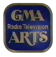 GMA Radio-Television Arts 3D Logo 1979
