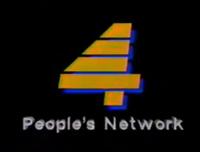 PTV 4 Logo ID 1990