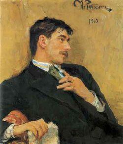 Chukovsky by Repin