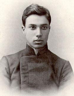 Boris Pasternak in youth