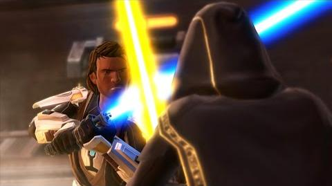"""STAR WARS The Old Republic – Knights of the Fallen Empire – """"Become the Outlander"""" Gameplay Trailer"""