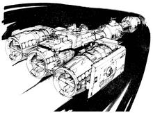 Blockade Runner Sketchbook