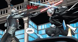 Гранд-инквизитор нападает на Джокасту Ню