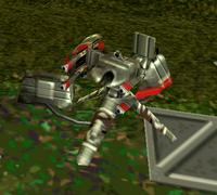 Trade Federation Quad laser cannon TPMgame