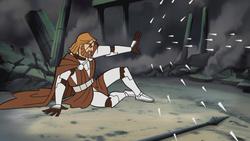 Kenobi Deflecting Durge's Attack