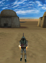 Boba Fett at Tatooine SWDem