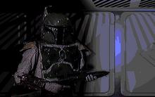 Boba Fett cutscene DF