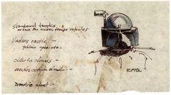Snowtrooper commander helmet sketch