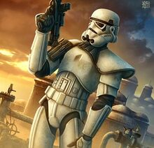 Imperial trooper AoD by Beyit