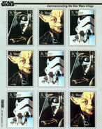 Star Wars Trilogy Postage Stamps