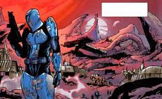 Mandalorians at Halthor KOTOR-War2