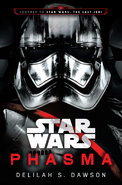 Phasma novel cover TLJ