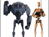 Боевой дроид серии B