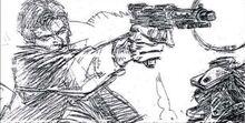 Shooting Han pencil