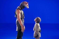 Amed Best and Jake Lloyd