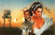 Courtship of Princess Leia cover art