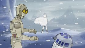 3PO К2 и Падме