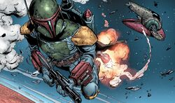 Fett goes after Solo