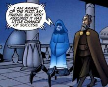 Dooku and Sidious on Serenno