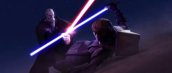 AnakinVsDooku Tatooine