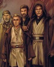 Luke at Mara's funeral