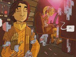 Ezra's 1st telekinesis