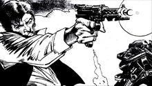 Shooting Han ink