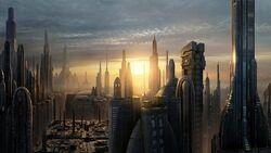 GalacticCity sunset2