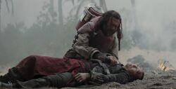 Chirrut's death