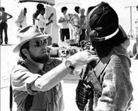 Jawas costume filming