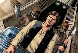 Rebels arrive on Cymoon 1