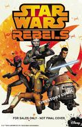 Star Wars Rebels Cinestory Comic