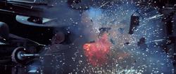 Radiant VII destruction