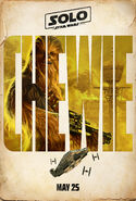 Chewie Solo A Star Wars Story Character Poster
