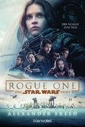 Rogue One novelization German paperback cover