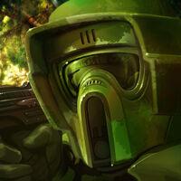 Swamp trooper SWG Galactic hunters by Shoemaker