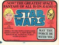 STAR WARS NPR AD JULY81