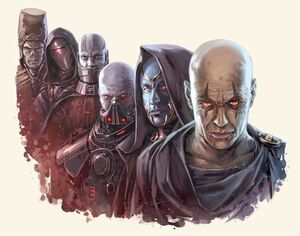 Six Sith Lords