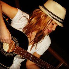 Holly Fields guitar