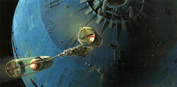 Death Star attack Ralph McQuarrie