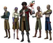 Hondo Ohnaka's gang