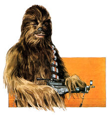 Chewbacca AdventuresABC