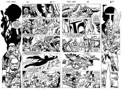 Star Wars 68 pages 10-11 art